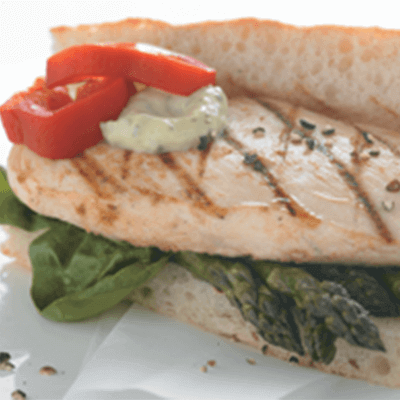 Farm Stand Grilled Chicken Focaccia