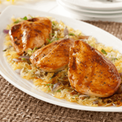 Agave Sweetened Chicken & Spaghetti Squash